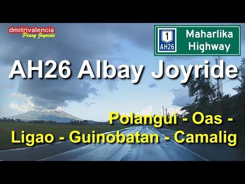 Pinoy Joyride - AH26 Bicol - Polangui to Camalig Albay Joyride
