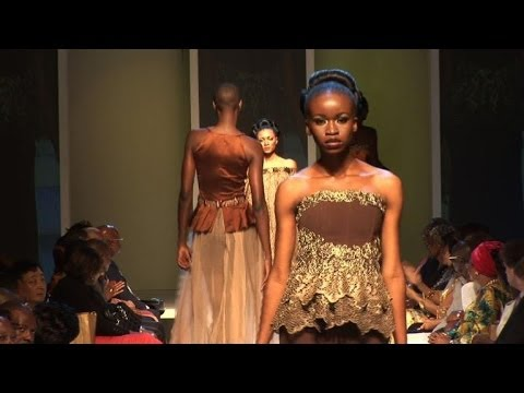 Cameroon catwalk shows Africa is in vogue
