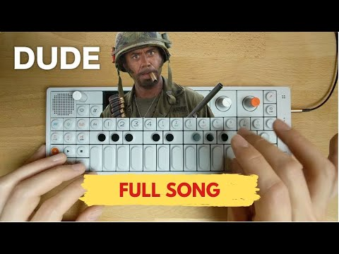 """[SONG VERSION] """"I'M A DUDE"""" RDJ Tropic Thunder Extended Remix"""