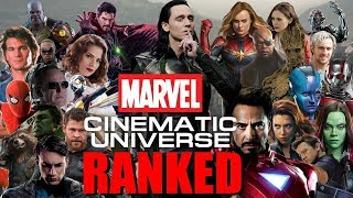 All 22 MCU Movies Ranked: Worst to Best