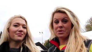 Chemmy Alcott talks to Rowan Cheshire at the Ski and Snowboard Show 2015