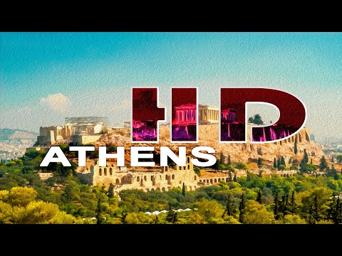ATHENS / PIRAEUS , GREECE - A WALKING TRAVEL TOUR - HD 1080P