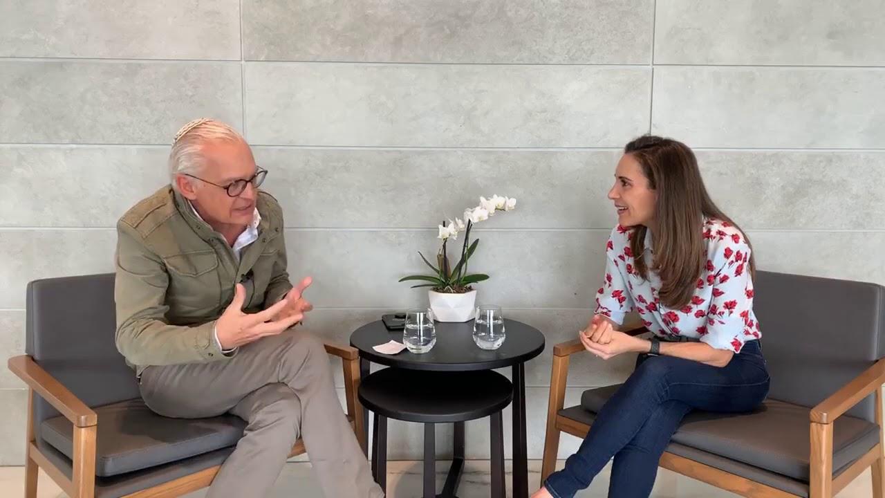 Entrevista Compartida Francis Cohen    Espiritualidad Con Abraham Askenazi