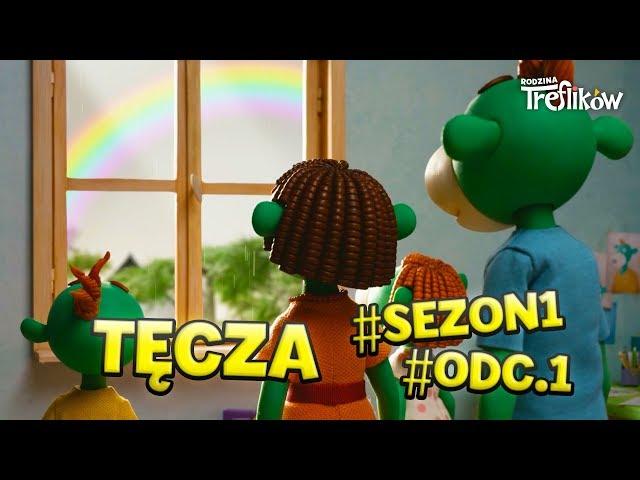 Bajki dla dzieci - RODZINA TREFLIKÓW - sezon 1 - odc. 1 -