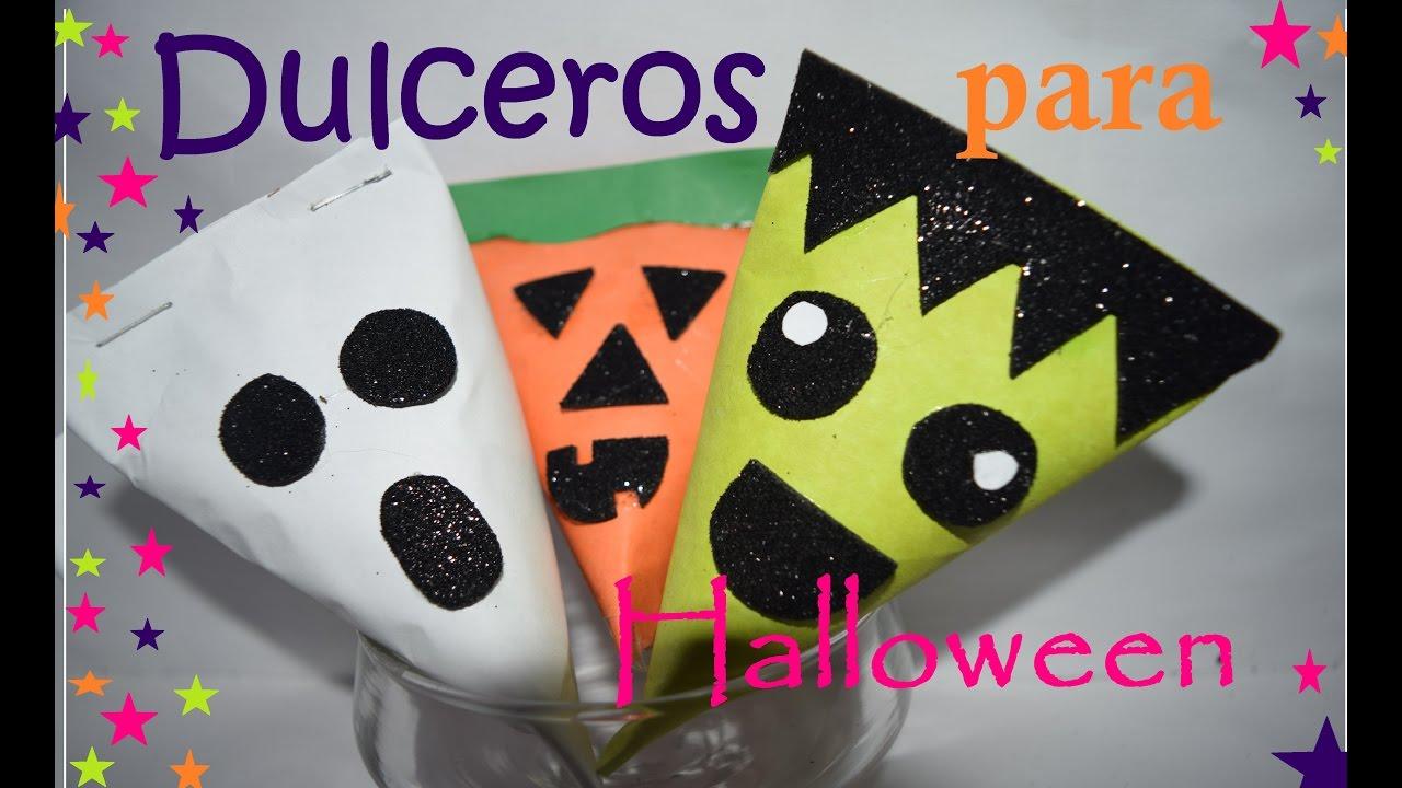 dulceros para halloween faciles diy candy box youtube. Black Bedroom Furniture Sets. Home Design Ideas