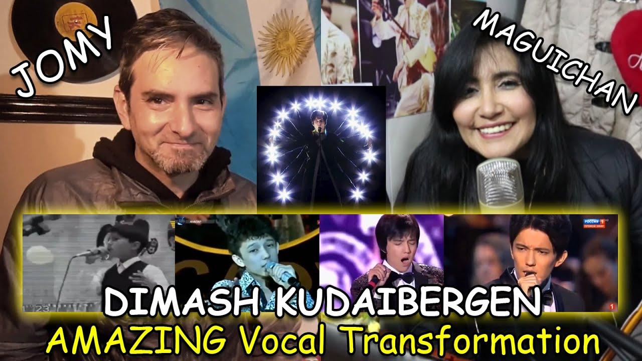 Dimash - reacciones - Ogni Prieta, Transformación Vocal - Argentina y Perú