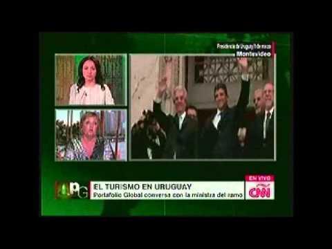 Uruguay: Entrevista en CNN en Español a la Ministra de Turismo y Deporte de Uruguay
