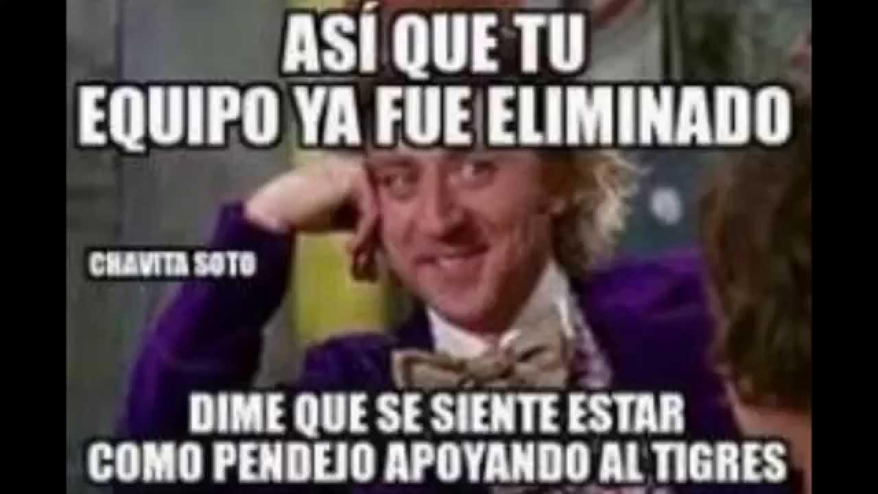 maxresdefault los mejores memes de la final américa vs tigres 3 0 14 12 2014,Memes Tigres