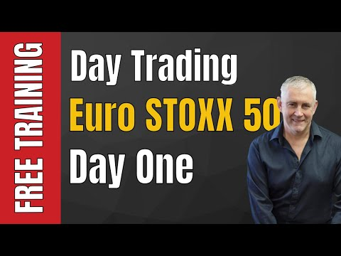 Day Trading Euro STOXX 50 - Day One