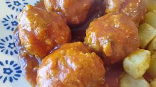 Hacer albóndigas con tomate    Cocina con Rock