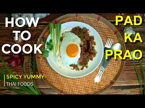 [thai-tasty-food]-pad-ka-prao-moo-pa-{fried-wild-boar-with-basil}-||ผัดกะเพราหมูป่า||