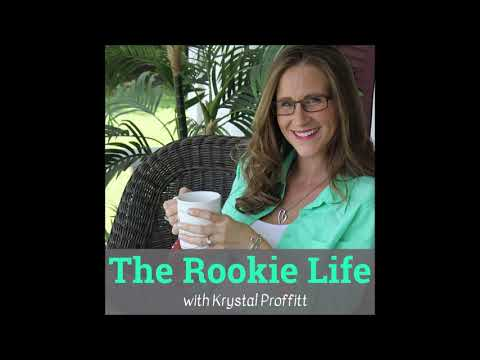 Poetry Reading with Krystal - Episode 19 The Rookie Life Podcast (Video)