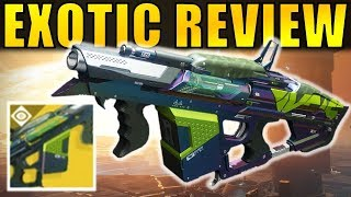 Destiny 2: THE COLONY Exotic Grenade Launcher Review | Curse of Osiris