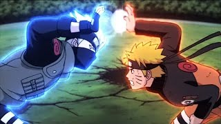 Naruto Crea El Rasen Shuriken | Kakashi Rasengan Vs Naruto Rasen Shuriken