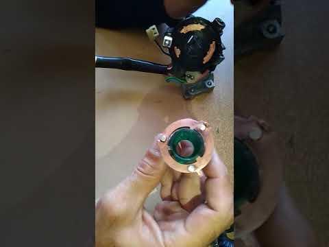 Чистка контактной группы замка зажигания ваз 2110 и т.д.