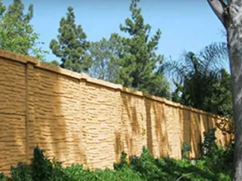 Precast Concrete Fence Installer - Concrete Fence Supply - Dallas ...