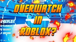 Overwatch in Roblox?!?! (Pre Pre Alpha first look!) [Q-Clash]