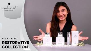 Review bộ sản phẩm Sakura Restorative Collection