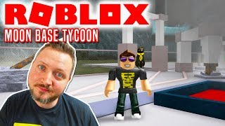 STRANDET PÅ MÅNEN! - Roblox Moon Base Tycoon Dansk
