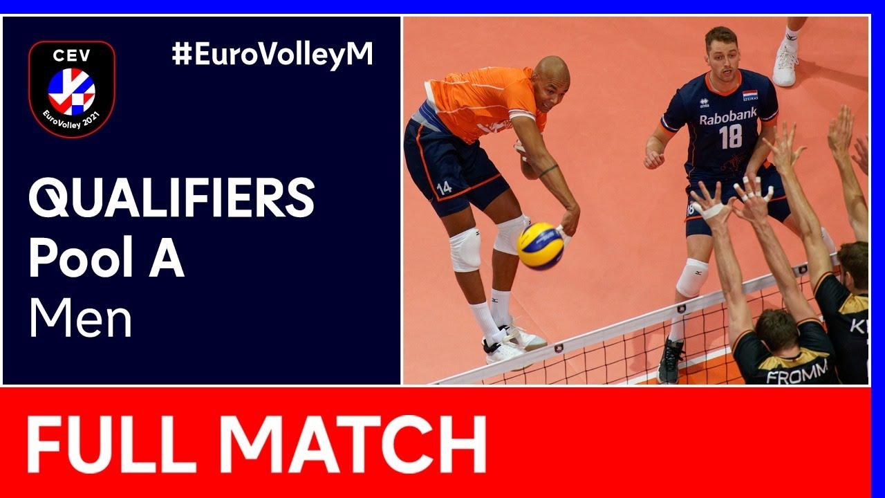 Download The Netherlands vs. Sweden - CEV EuroVolley 2021 Qualifiers Men