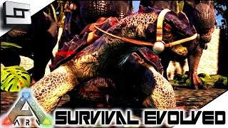 ARK: Survival Evolved - FRANK THE TANK! S4E40 ( The Center Map Gameplay )
