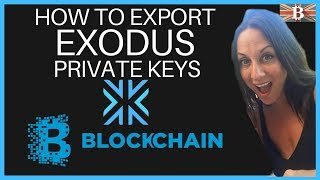Export Exodus Private Keys to Blockchain - Save on Transaction Fees
