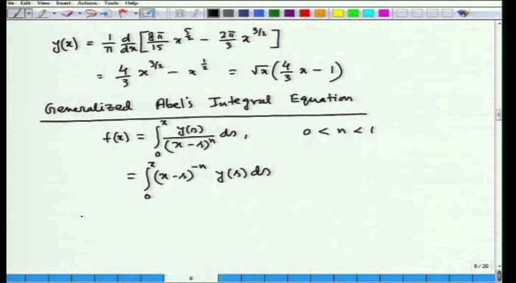 Mod-01 Lec-38 Calculus of Variations and Integral Equations