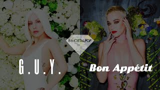 Lady Gaga x Katy Perry – Bon Appétit, G.U.Y. [Mashup by Immortalpop] Video