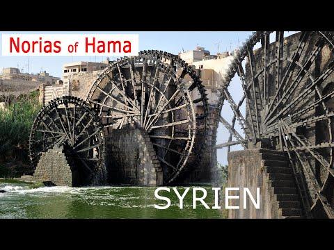 Syria Hama  - Die Wasserräder