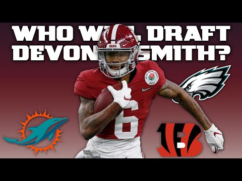 DeVonta Smith: 'I'm going to be the hardest worker' on whichever team drafts me