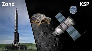 Space Race KSP - Zond Circumlunar Flight - Making History