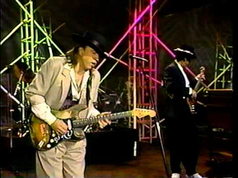 Stevie Ray Vaughan - Tightrope & brief interview (6.7.90)