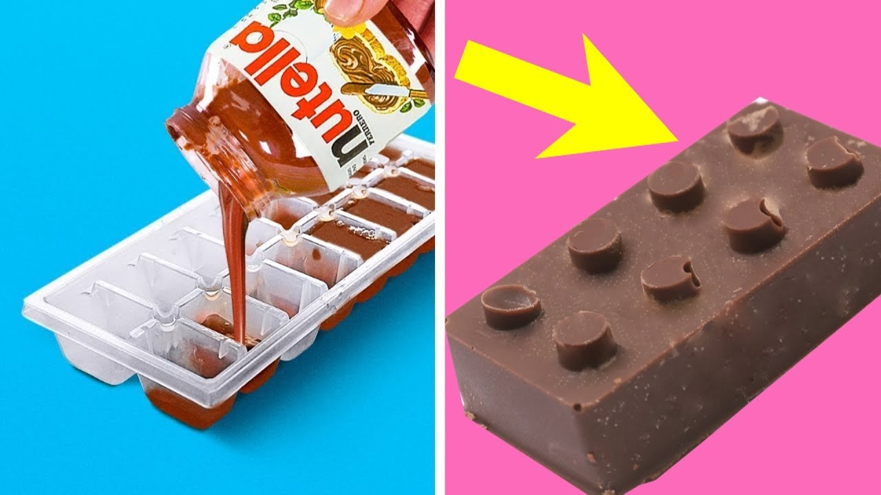 Trying 39 YUMMY DIY KITCHEN LIFE HACKS by 5 Minute Crafts