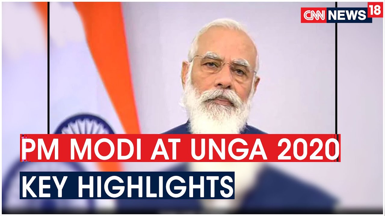 PM Modi's at UNGA 2020, Here Are Some Key Highlights | CNN News18