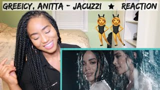 Baixar Greeicy, Anitta  - Jacuzzi (Official Music Video)   REACTION