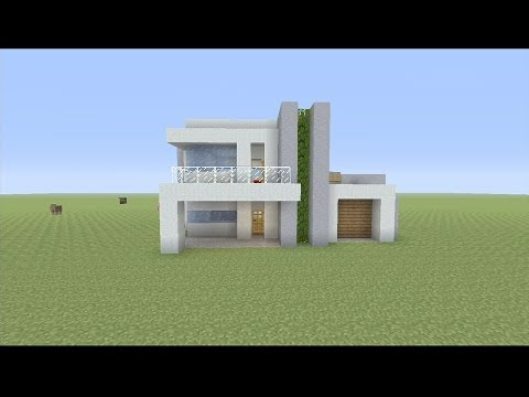 How to Build a Small Modern House in Minecraft: Please watch: