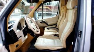 Переоборудование микроавтобусов. Mercedes Sprinter.KML Restyling Center. Georgia. Tbilisi(, 2015-05-02T14:21:56.000Z)