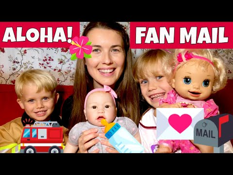 📬Reading Fan Mail With Kids & Dolls! 🎀Changing Paradise Gallery