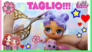 LOL SURPRISE Daring Diva MAKEOVER HAIR CUT!!! Sciolgo e taglio TUTORIAL! by Lara e Babou