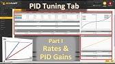 Betaflight PID Tuning tab: PID Controller Settings - YouTube