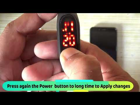 How To Set Date And Time In Digital Watch | Led Digital Watch Time Setting -Easy Setup (60 Sec)