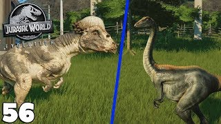 JURASSIC WORLD EVOLUTION 56 - PACHYCEPHALOSAURUS & ARCHAEORNITHOMIMUS - royleviking [FR HD PC]