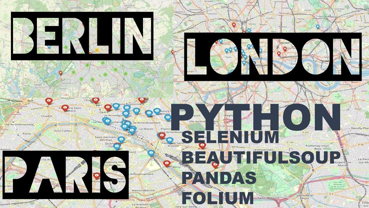 Python Geocoding - Address to Latitude & Longitude