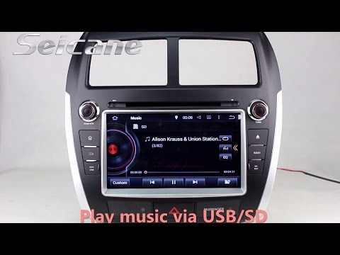 oem 2010 2011 2012 2013 mitsubishi asx dvd gps cd radio. Black Bedroom Furniture Sets. Home Design Ideas