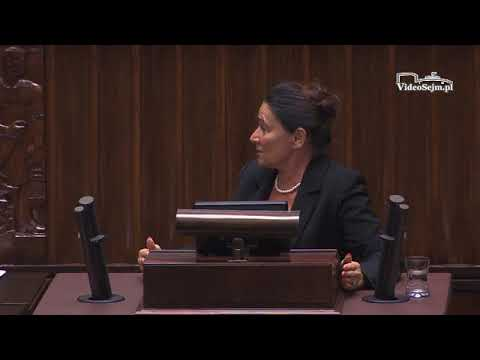Alicja Chybicka – wystąpienie z 12 grudnia 2017 r.