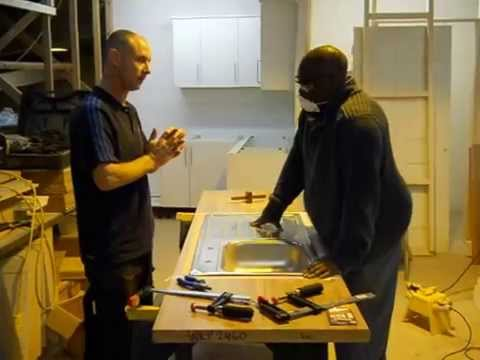Advanced Kitchen Fitting Course Coventry Building Workshop 02 Youtube