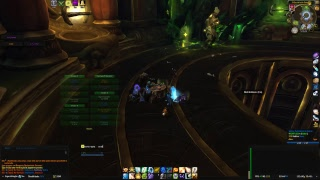 WOW ToS Heroic Maiden Holy Priest Live Stream Trial 2