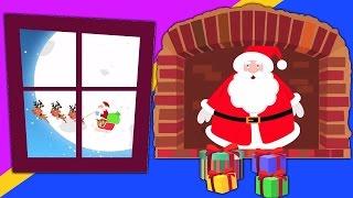 Papai Noel sob a chaminé | Natal Canções | Christmas Carols | Santa Claus Under The Chimney