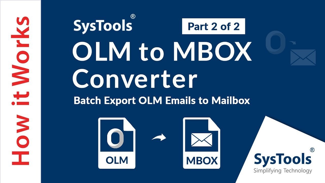 OLM to MBOX Converter to Migrate Data From OLM File into MBOX