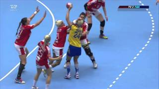 Denmark vs  Sweden (Women